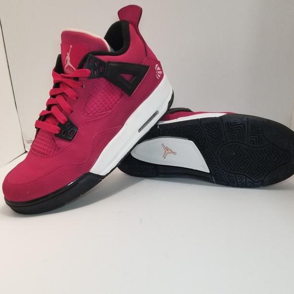 739cbaa07f1 Jordan Shoes | Nike Air 4 Valentines Day Voltage Pink | Poshmark